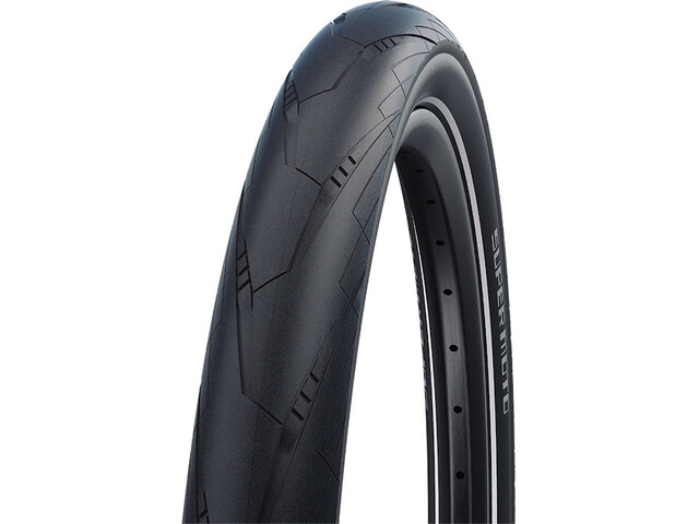 "SCHWALBE Super Moto Performance Clincher Tyre 27.5x2.40"" RaceGuard E-50 Addix Reflex, black"